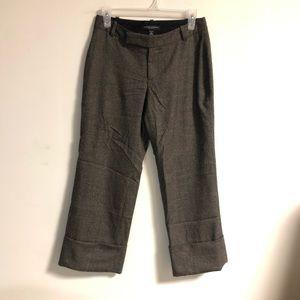 Banana Republic Cropped Wool Pants